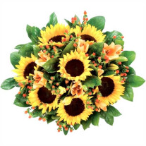 Sunflowers bouquet